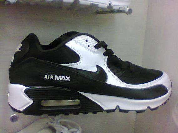 Tenis Nike Air Max 90 Preto E Branco Nº38 Original Na Caixa