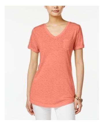 Promoção Blusa Camiseta Decotada Feminina Tamanho 44