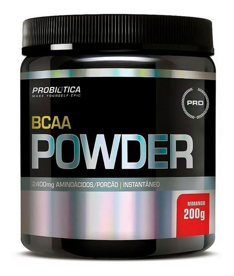 Bcaa 2:1:1 Powder Pó Drink 200g - Probiotica
