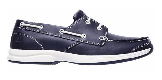 Zapato Hombre Timberland Náutico Folly Bay 2 Eye Navy Blue