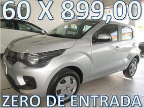 Fiat Mobi Like Completo Zero De Entrada + 60 X 899,00 Fixas