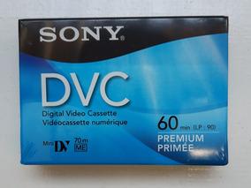 Fita Dvc Minidv Sony Premium 5un Original Lacradas