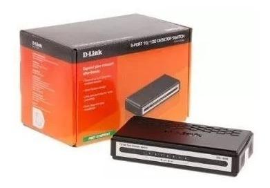 Switch D-link Des-1008a De 8 Puertos 10/100mbps *19v*