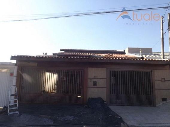 Casa Com 4 Dormitórios À Venda, 120 M² Por R$ 650.000,00 - Jardim Residêncial Firenze - Hortolândia/sp - Ca3244