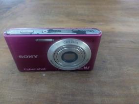 Camera Sony Cyber-shot Dsc-w320 + Cartão 4gb + Carregador