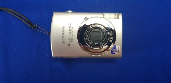 Máquina Fotografia Digital Canon Sd 870 Is