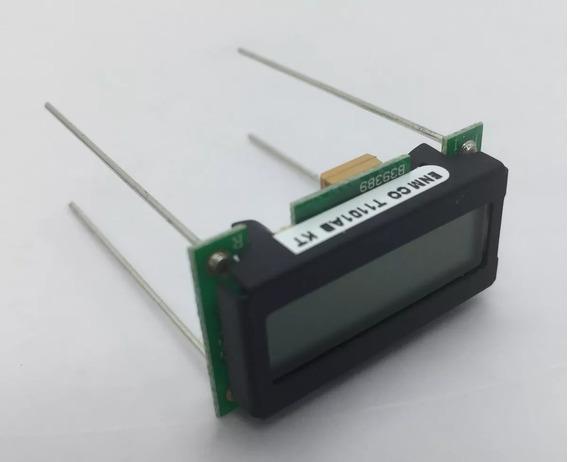 Horímetro Digital 6 Dígitos Lcd Enmco T1101ab
