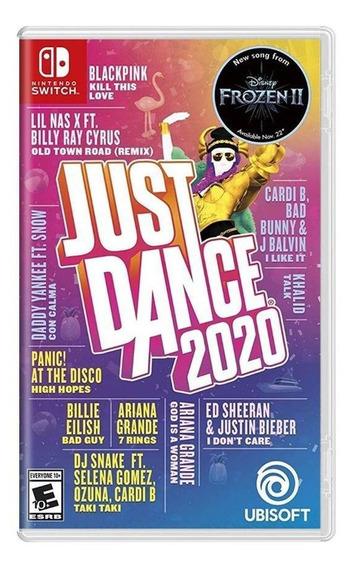 Just Dance 2020 Switch Mídia Física Novo Lacrado