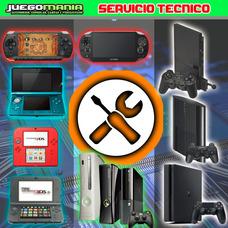 Servicio Tecnico Video Consola Xbox / Playstation / Nintendo