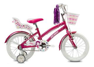 Olmo Bicicleta Tiny Friends R16 Rosa - Thuway