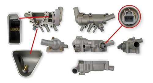 Imagen 1 de 2 de Carcata Termostato Ford Ka 1999-2008 1.0 1.6 Rocam Aluminio
