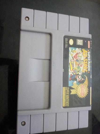 Super Mario All Stars Americano Original!! 100%