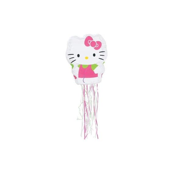 Ya Otta Pinata Pull Pinata, 22 Por 17 Pulgadas, Hello Kitty