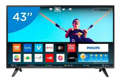 Smart Tv Ultra Slim 43 Philips Full Hd Led 43pfg5813 Wifi