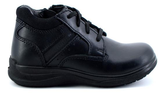 Zapato Escolar Flexi Para Niño 402104 Negro [fff2754]