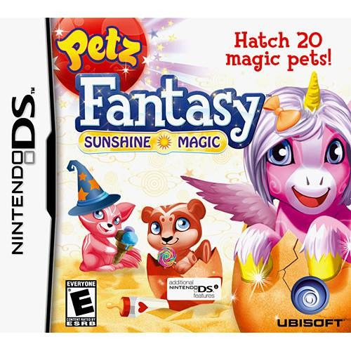 Petz Fantasy Sunshine Magic - Ds