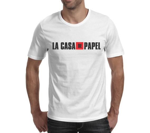 Camiseta La Casa De Papel - Branca
