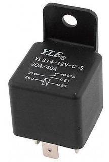 Rele Auto 12v 40a Yle Yl314-12v-c-s 5 Pin Arduino Pic Relay