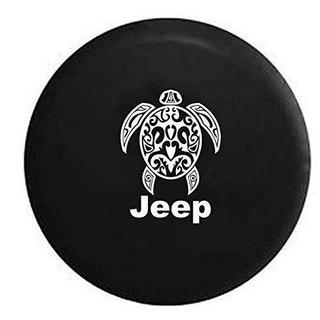 Jeep Tortugas De Mar Playa De Buceo Vida Marina Tire Cover D