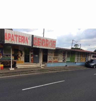 Vendo Terreno Con Locales $350,000 En Vacamonte