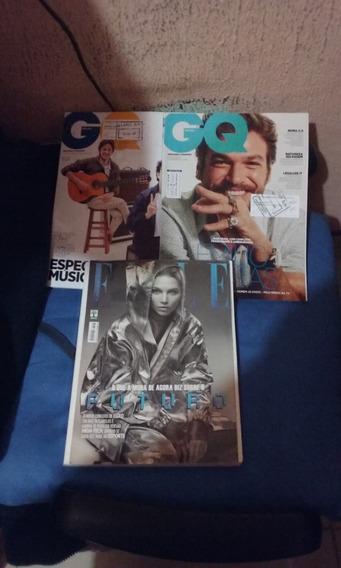 Revista Elle E Gq Brasil 03 Unidades Oferta 20 Reais