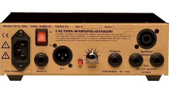 Amplificador Cabezal Para Bajo Eden 500w - Wtx500