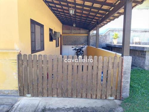 Casa Com 2 Dormitórios À Venda, 59 M² Por R$ 150.000,00 - Chácaras De Inoã (inoã) - Maricá/rj - Ca4318
