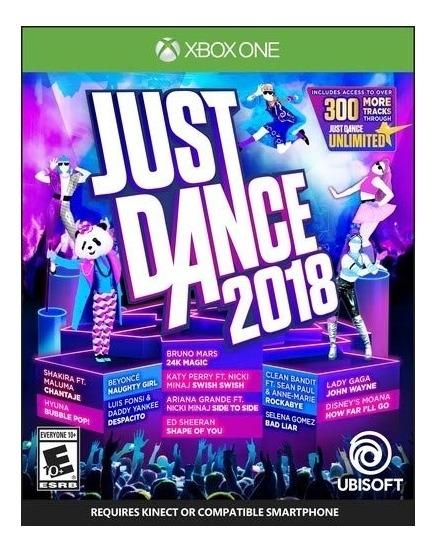 Just Dance 2018 - Xbox One Lacrado Midia Fisica