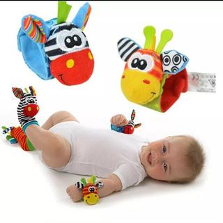 Lindos Sonajeros De Pies Y Manos Para Bebé