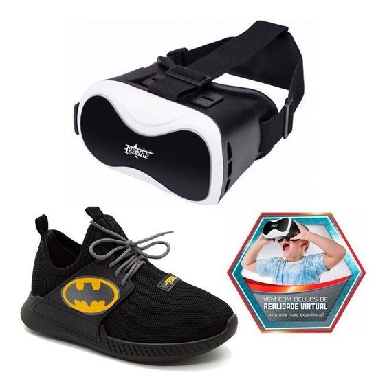 Tênis Batman Grendene Kids Óculos Realidade Virtual