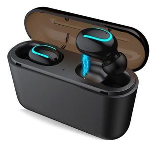 Fone De Ouvido Bluetooth Sem Fio Duplo Tws Original - Preto