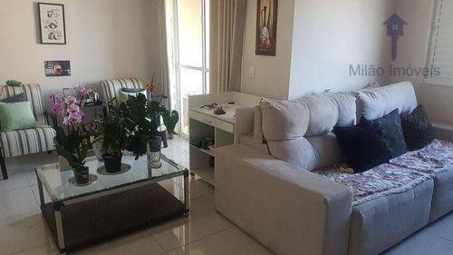 Imagem 1 de 30 de Apartamento 2 Dormitórios À Venda, 67 M², Condomínio Upper Life, Parque Campolim Em Sorocaba/sp - Ap1573