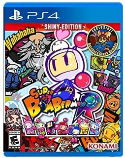 Super Bomberman R Shiny Edition Ps4 Delivery Stock Ya