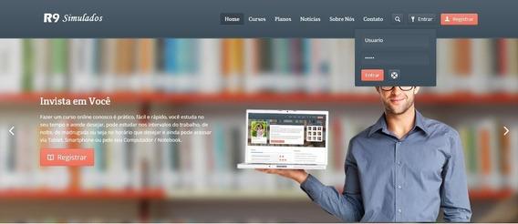 Mega Site De Cursos Php - Venda Cursos Online Script