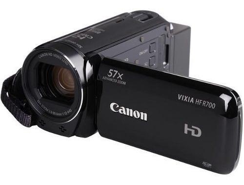 Filmadora Canon Vixia Hf-r700 De R$1.600,00 Por R$850,00