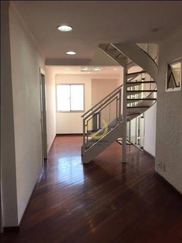 Cobertura Com 3 Dormitórios À Venda, 159 M² Por R$ 1.280.000,00 - Ipiranga - São Paulo/sp - Co0026