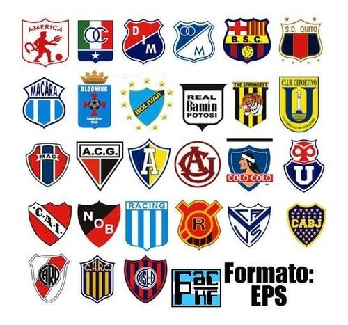 Escudos Vectorizados Futbol Banderas Paises Nba Nfl Cfl Ncaa