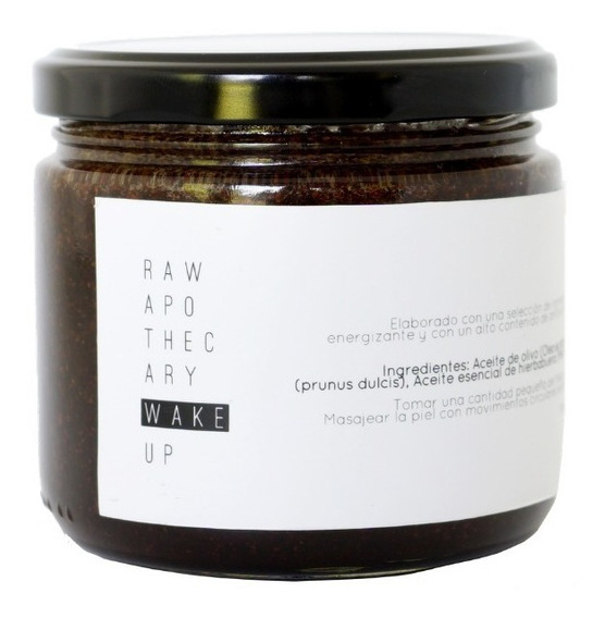 Wake Up Raw Apothecary Exfoliante De Café Para Cuerpo