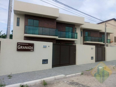 Casa Com 2 Dormitórios À Venda, 116 M² Por R$ 480.000 - Intermares - Cabedelo/pb - Cod Ca0137 - Ca0137