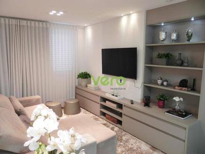 Apartamento Com 3 Dormitórios Para Alugar, 97 M² Por R$ 2.700/mês - Vila Frezzarin - Americana/sp - Ap0073