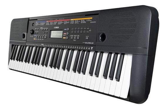 Teclado Piano Yamaha Psr E263 Soporte + Cargador