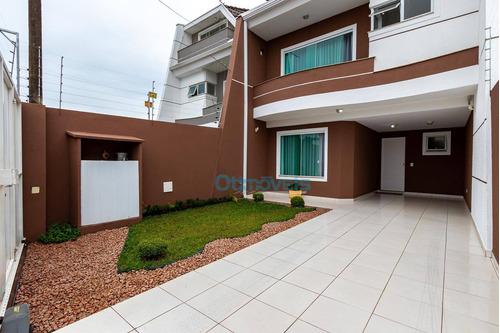 Imagem 1 de 20 de Sobrado Com 3 Dormitórios À Venda, 162 M² Por R$ 680.000,00 - Santa Felicidade - Curitiba/pr - So0576