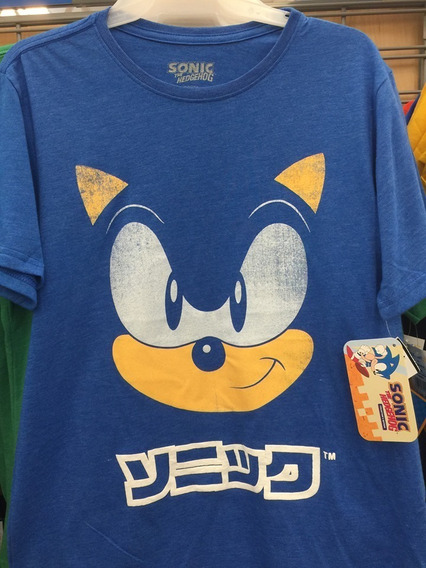 Sonic The Hedgehog Sega Adventure T-shirt Camiseta Camisa