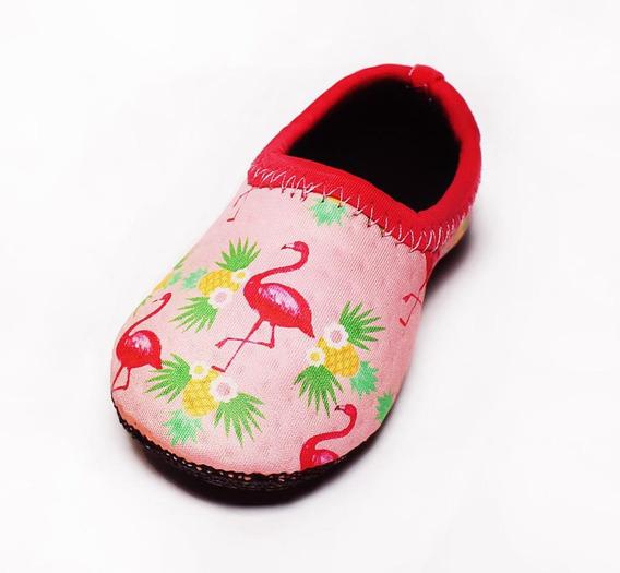 Sapatilha Neoprene Ufrog Air Infantil Flamingo