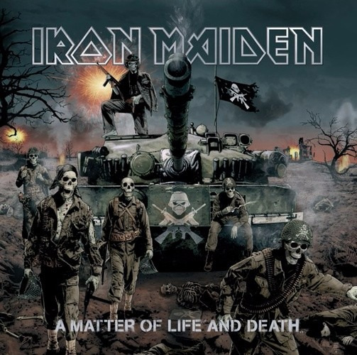 Cd Iron Maiden - A Matter Of Life And Death (952853)