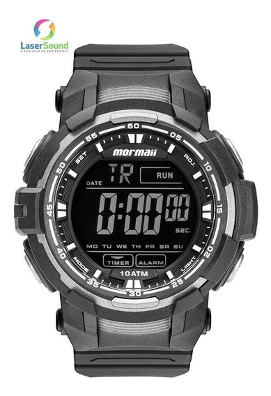Relógio Mormaii Masculino Mo8121aa/8c, C/ Garantia E Nf