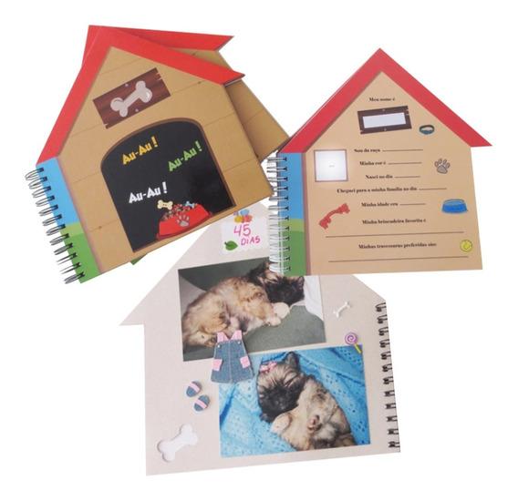 Álbum Scrapbook Casinha Cachorro