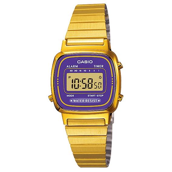Relógio Casio Feminino Vintage La670wga-6df.