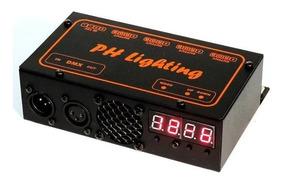 Controlador Dmx 12 Canais 8 Fitas 2400 Leds Rgb 5050 Phl