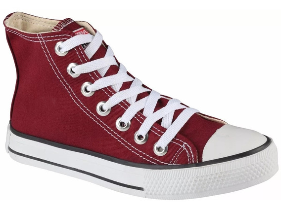 Tênis Converse All Star Cano Alto Original Bordô
